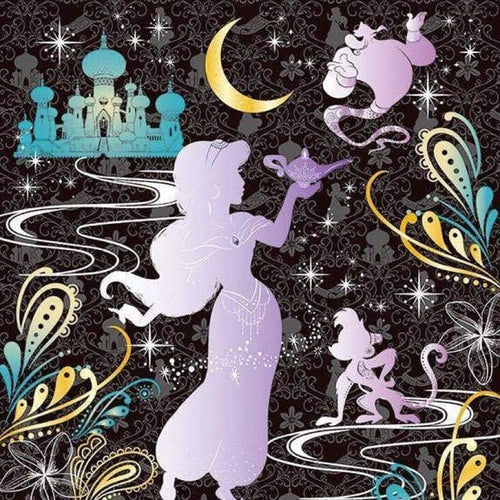 Full Drill - 5D DIY Diamond Painting Kits Dream Cartoon Princess - NEEDLEWORK KITS