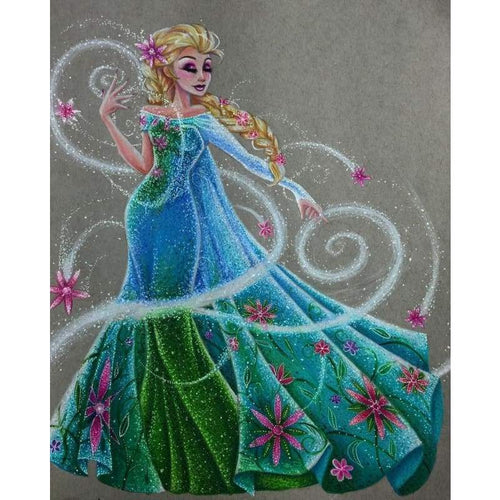 5D DIY Diamond Painting Kits Cartoon Magic Princess - 3