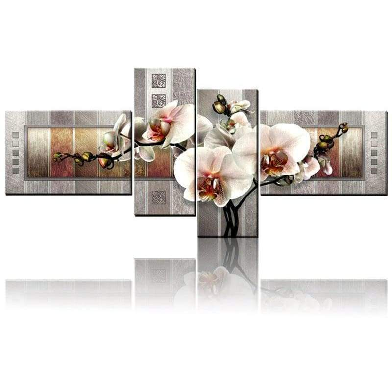 Full Drill - 5D DIY Diamond Painting Kits Special Orchid Floral Multi Picture - NEEDLEWORK KITS