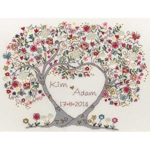Love Blossoms - NEEDLEWORK KITS