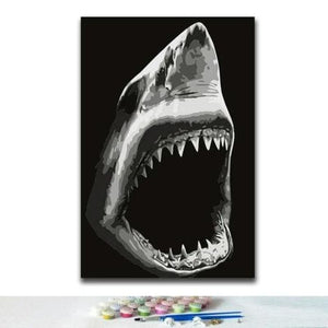 Shark Diy Paint By Numbers Kits VM30251 - NEEDLEWORK KITS