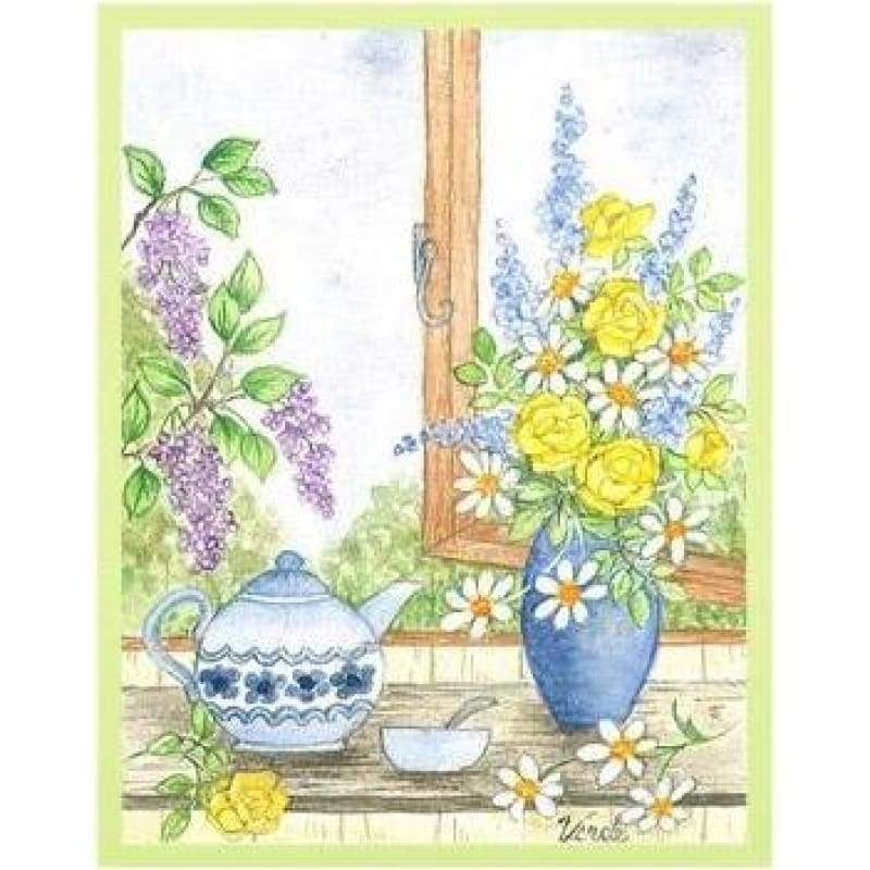By The Window - Embroidery Patterns