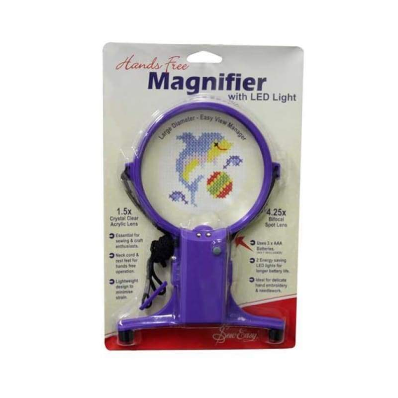 Hands-Free Magnifier Light - NEEDLEWORK KITS