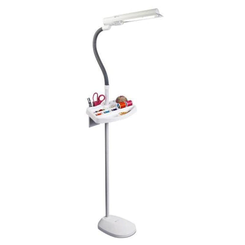 OTTLITE SEWERS FLOOR LAMP WITH ACCESSORY TRAY - Lights