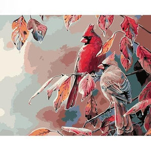 Parrots Diy Paint By Numbers Kits PBN94046 - NEEDLEWORK KITS