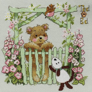 Ted & Ed - A Little Bird Told Me - Cross Stitch