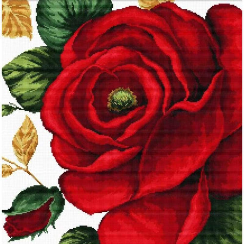 Rose - Stamped Cross Stitch Kits