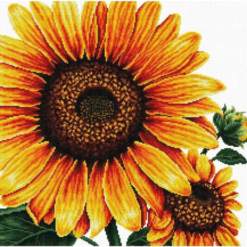Sunflower - Stamped Cross Stitch Kits