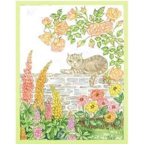 Cat On The Wall - Embroidery Patterns