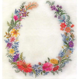 Midsummer Dream - House Of Embroidery Silk Threads - Embroidery Patterns