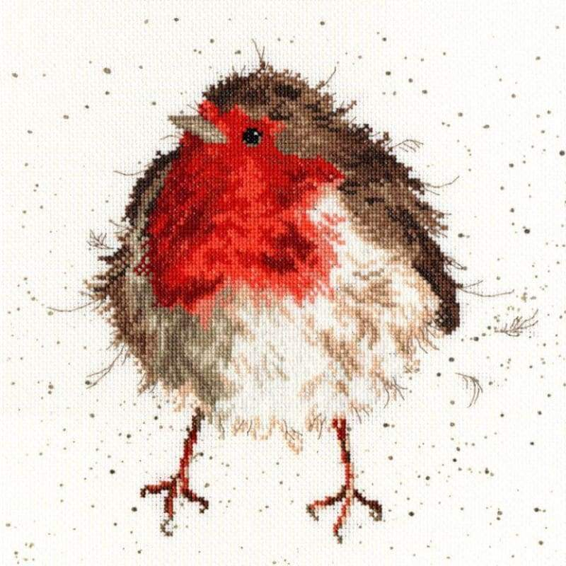 Jolly Robin - Cross Stitch