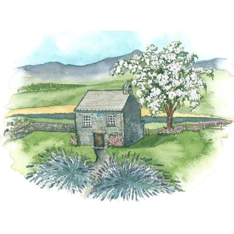 Lavender Cottage - Embroidery Patterns