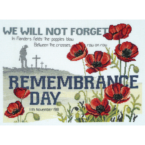 Remembrance Day - NEEDLEWORK KITS
