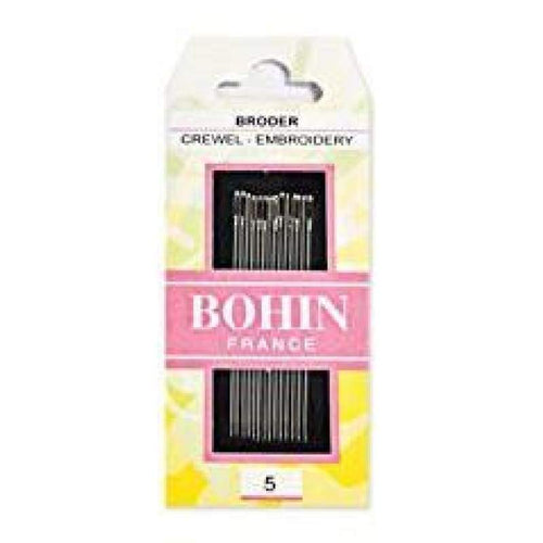 Bohin Embroidery Needle Size 5 - Accessories