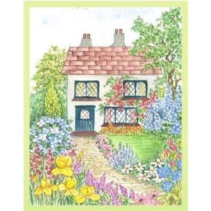 Garden Shed - Embroidery Patterns