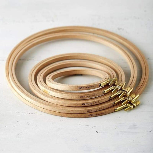 Beechwood Wooden Screwed 8MM Hoop - Frames and Hoops