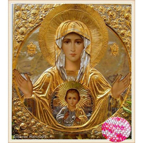 5D DIY Diamond Painting Kits Heavenly Catholicism
