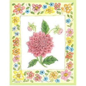 Floral Frame A5 - Embroidery Patterns