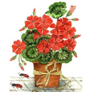 Geranium - Creative Embroidery Panels