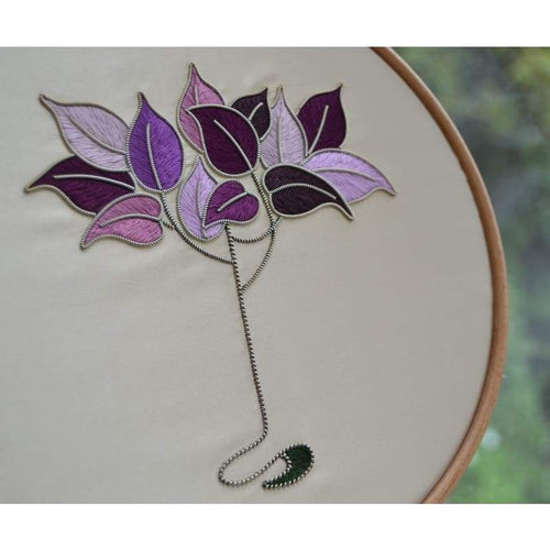 Art Nouveau Tree - Embroidery