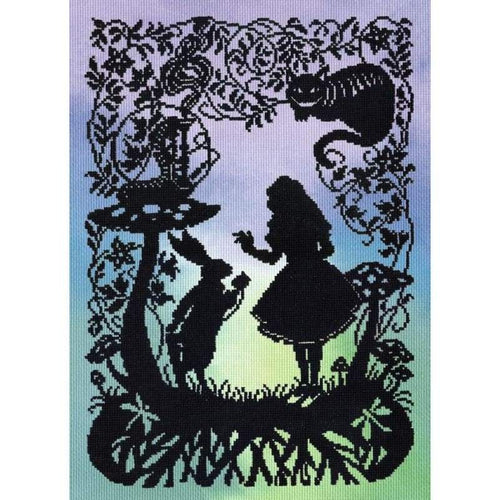 Alice In Wonderland - Cross Stitch