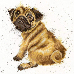 Pug - Cross Stitch