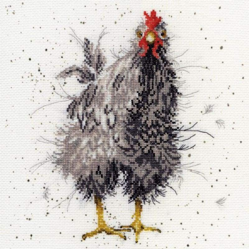 Curious Hen - Cross Stitch