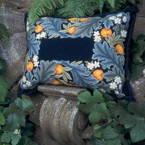 Orange Border - Tapestry And Needlepoint