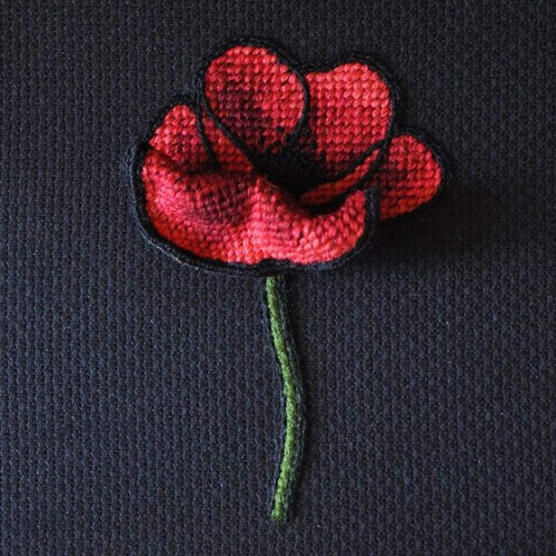 Poppy - Embroidery