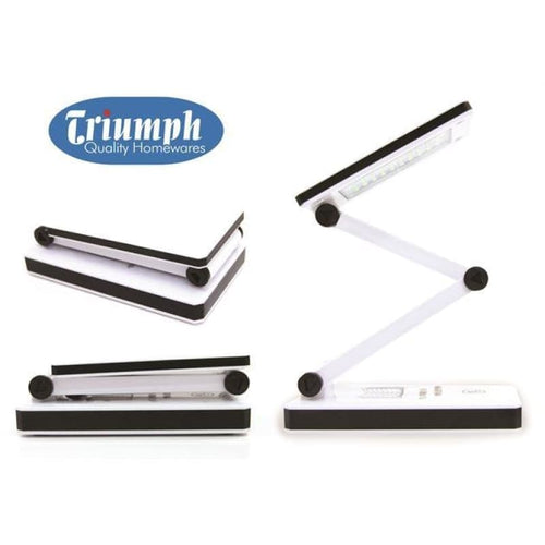 Triumph LED Rechargeable Folding Desk Lamp - NEEDLEWORK KITS