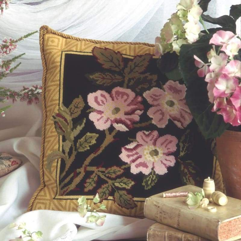 Jackfield Rose - Tapestry And Needlepoint