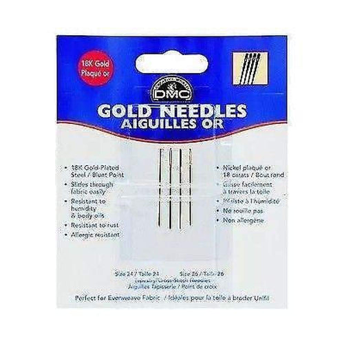 DMC Gold Plated Needle Size 24-26 - Accessories
