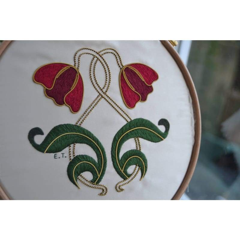 Art Nouveau Tulips - NEEDLEWORK KITS
