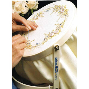 Hands-Free Embroidery Hoop - Pre-Order (1st half of November delivery) - NEEDLEWORK KITS