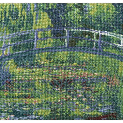 Monet's The Water Lily Pond - NEEDLEWORK KITS