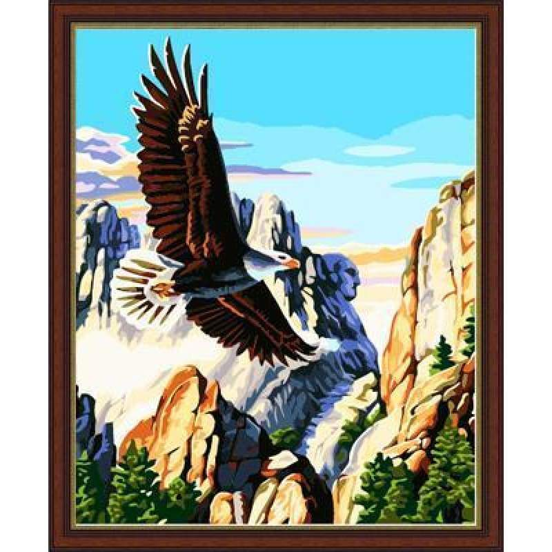 Eagle Diy Paint By Numbers Kits ZXE133 - NEEDLEWORK KITS