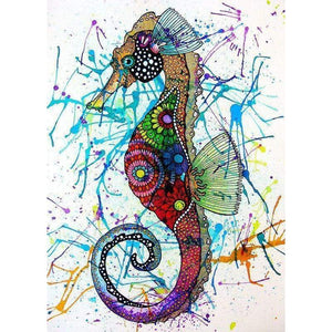 Seahorse Diy Paint By Numbers Kits VM90069 - NEEDLEWORK KITS