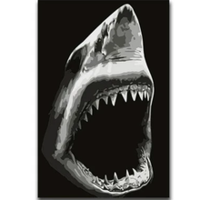 Load image into Gallery viewer, Shark Diy Paint By Numbers Kits VM30251 - NEEDLEWORK KITS