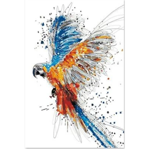 Parrot Diy Paint By Numbers Kits PBN92709 - NEEDLEWORK KITS