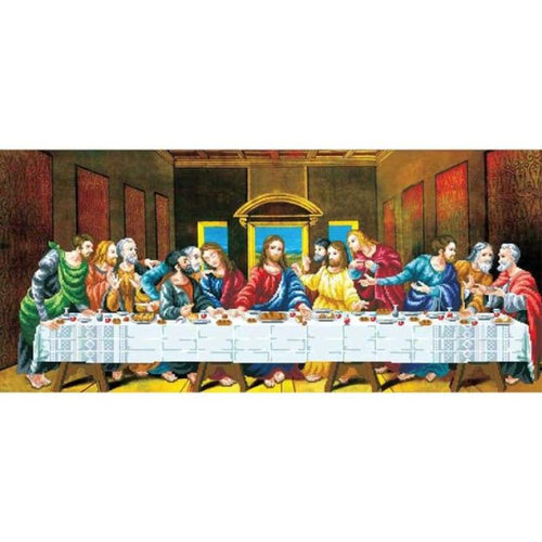 The Last Supper - Stamped Cross Stitch Kits