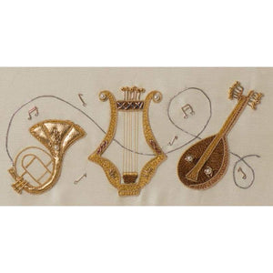 Musical Instruments - Embroidery Clearance