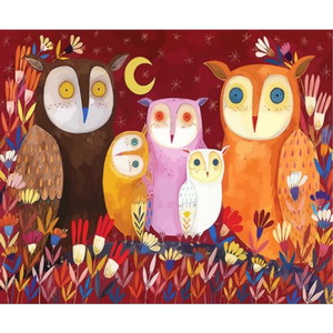 Owl Diy Paint By Numbers Kits ZXQ3651