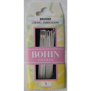 Bohin Embroidery Needles - Accessories