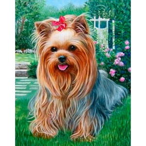 Dog Diy Paint By Numbers Kits PBN54141 - NEEDLEWORK KITS