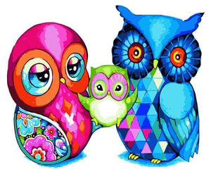 Owl Diy Paint By Numbers Kits SY-4050-049