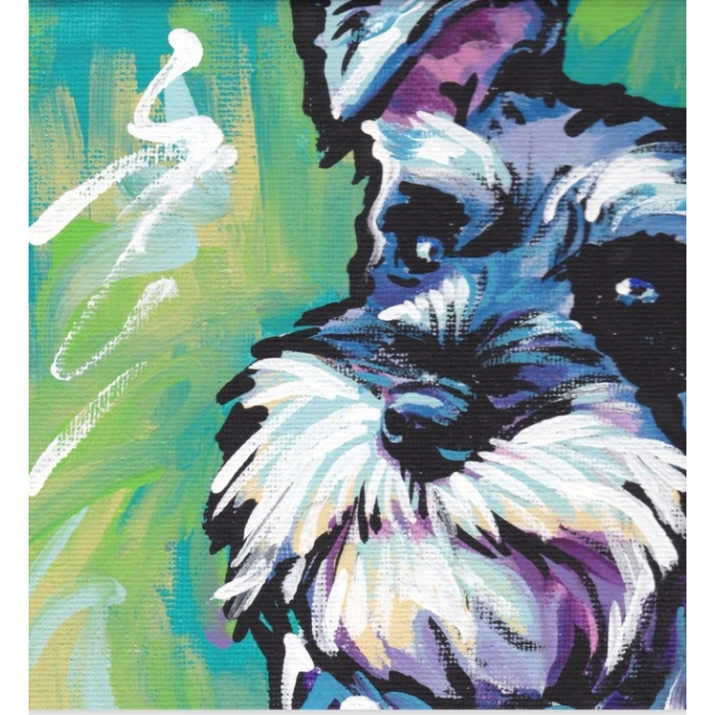 Dog Diy Paint By Numbers Kits VM57817 - NEEDLEWORK KITS