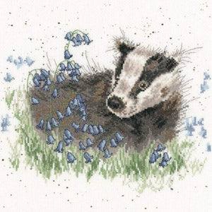 Bluebell Wood - Cross Stitch