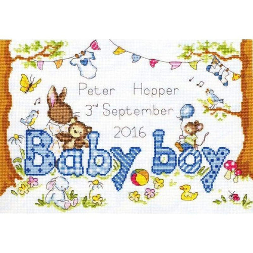 Bunny Love - Boy - NEEDLEWORK KITS