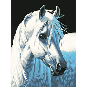 Horse Diy Paint By Numbers Kits YM-4050-139 - NEEDLEWORK KITS