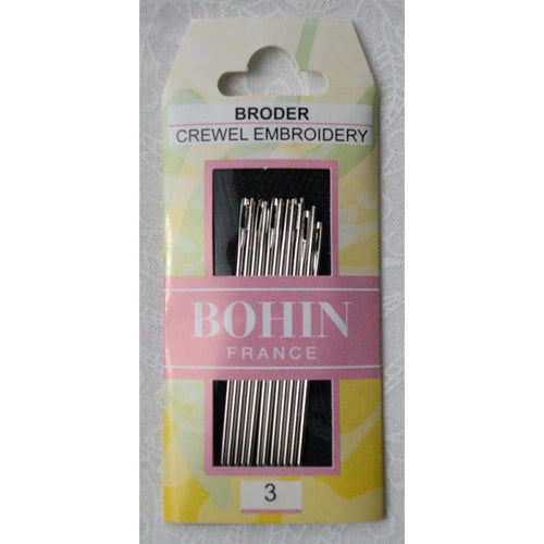 Bohin Embroidery Needle Size 3 - Accessories